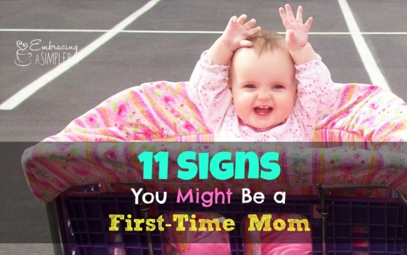 Signs you might be a first-time mom