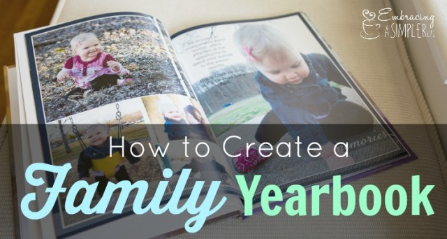 how to create a family yearbook FB