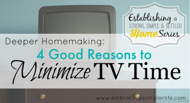 minimize tv time FB
