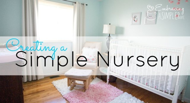 creating a simple nursery FB