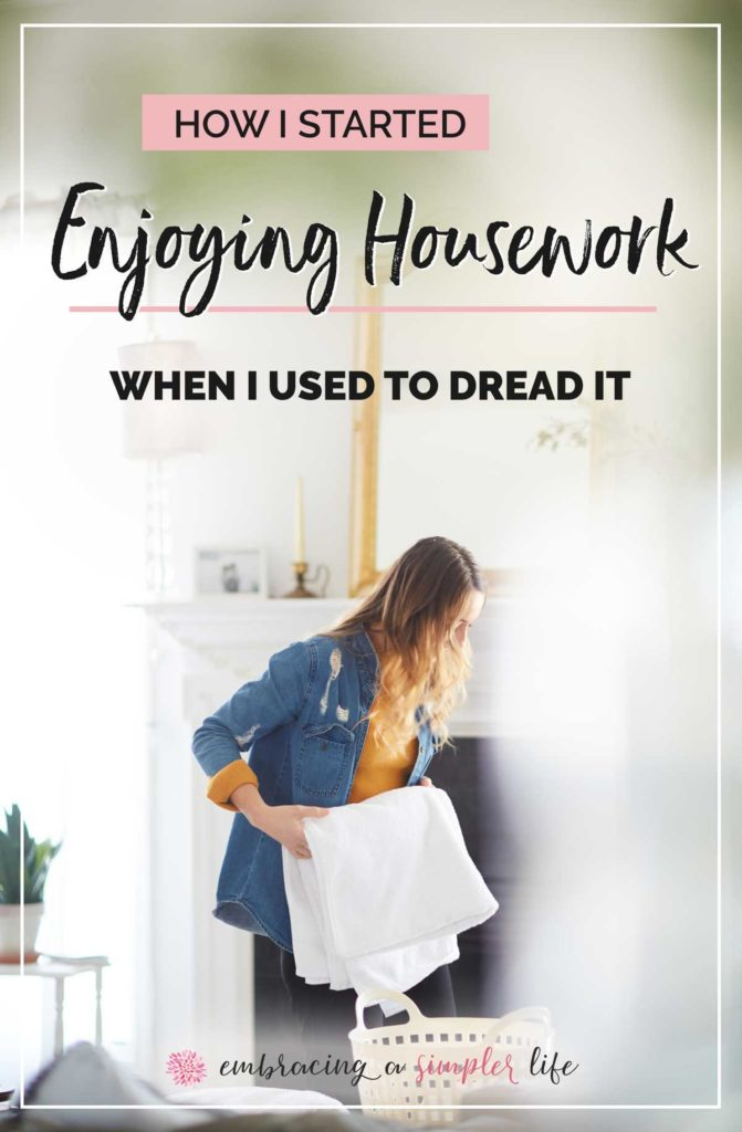 How I started enjoying housework