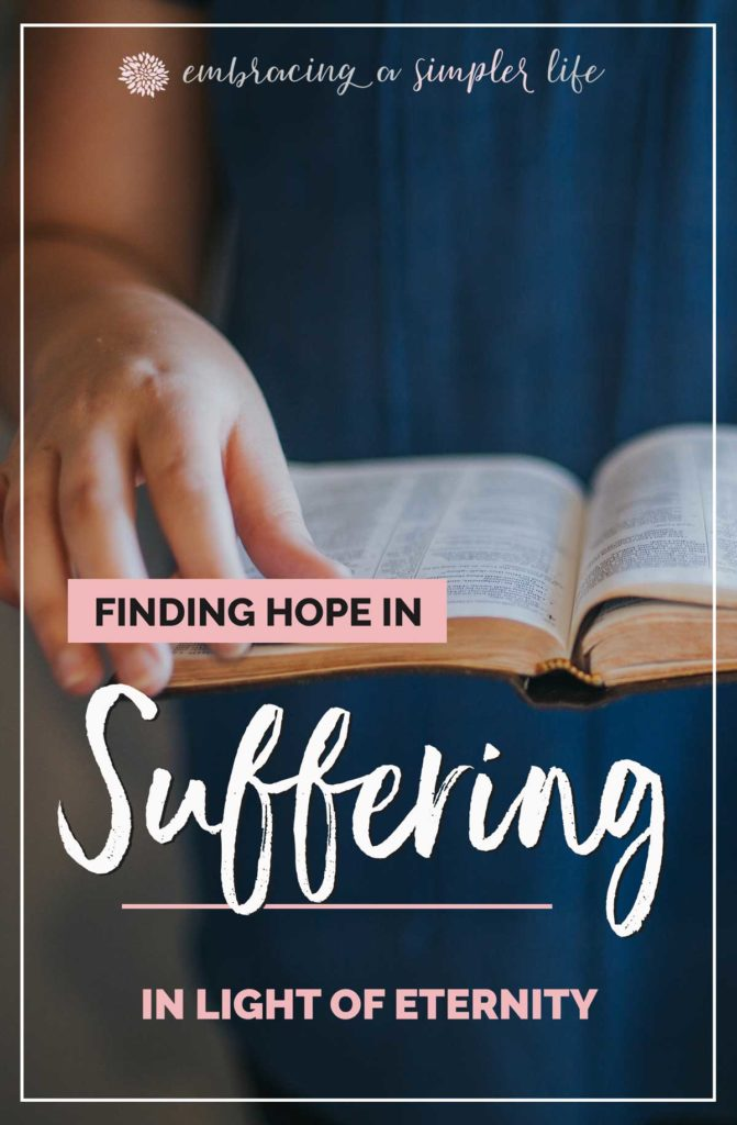 How to find hope in suffering