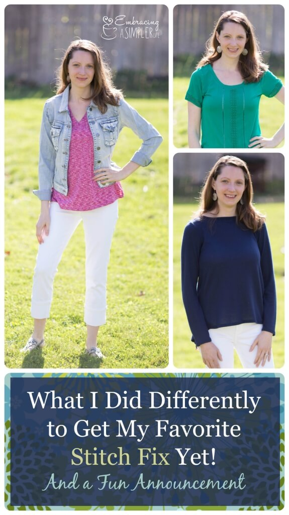 What I Did Differently to Get My Favorite Stitch Fix Yet