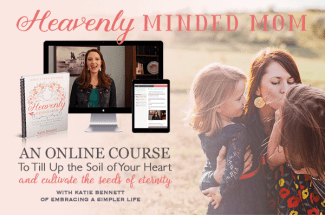 Heavenly Minded Mom course graphic 600px