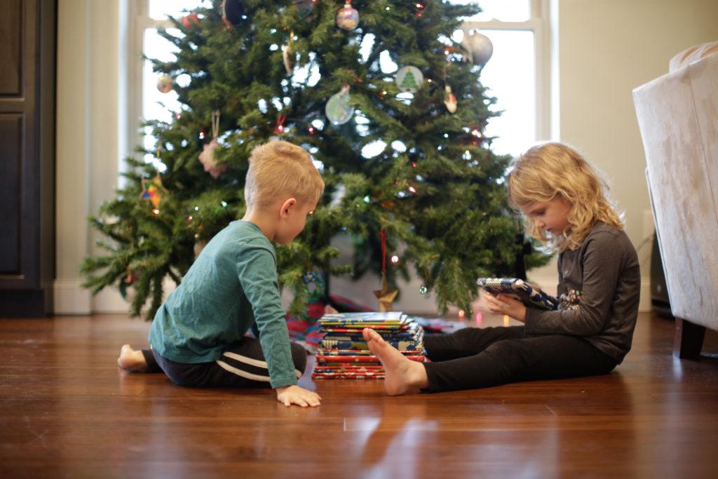 Christmas Book Advent Calendar preparation