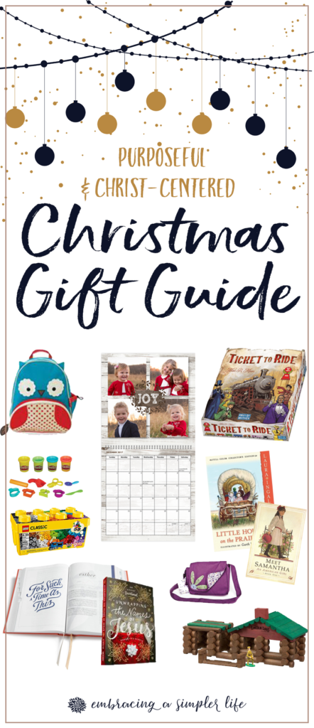 Christ-centered christmas gift ideas
