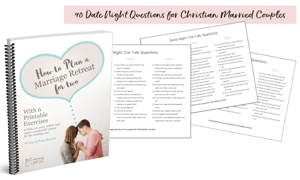 activities for christian dating couples