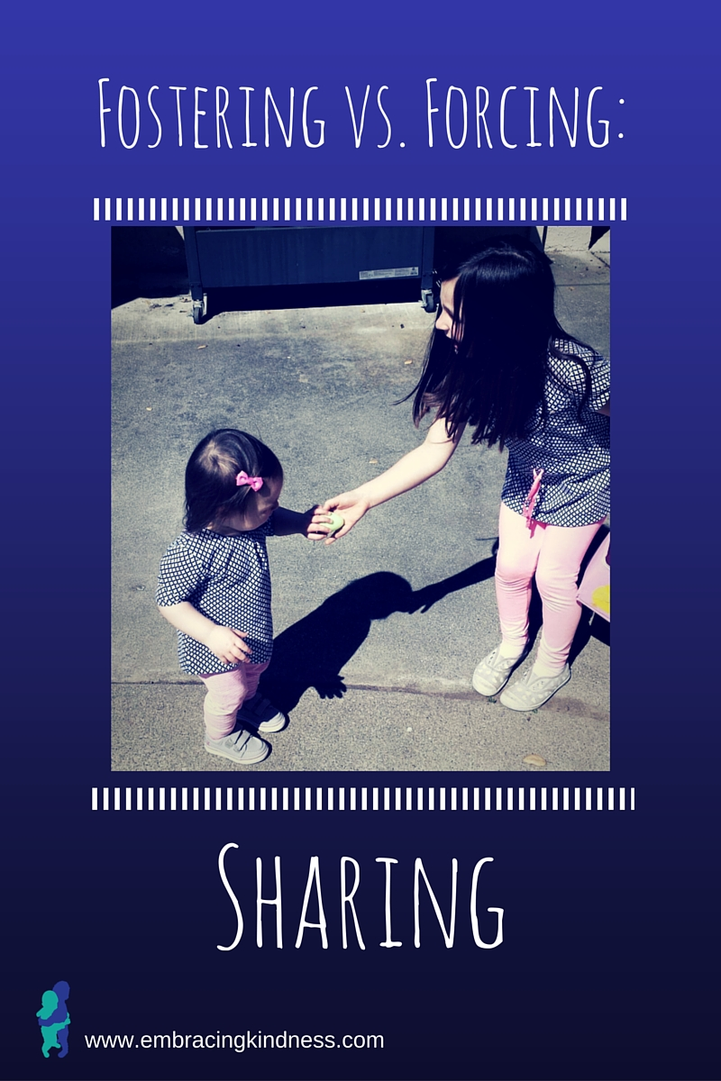 Fostering vs. Forcing: Sharing