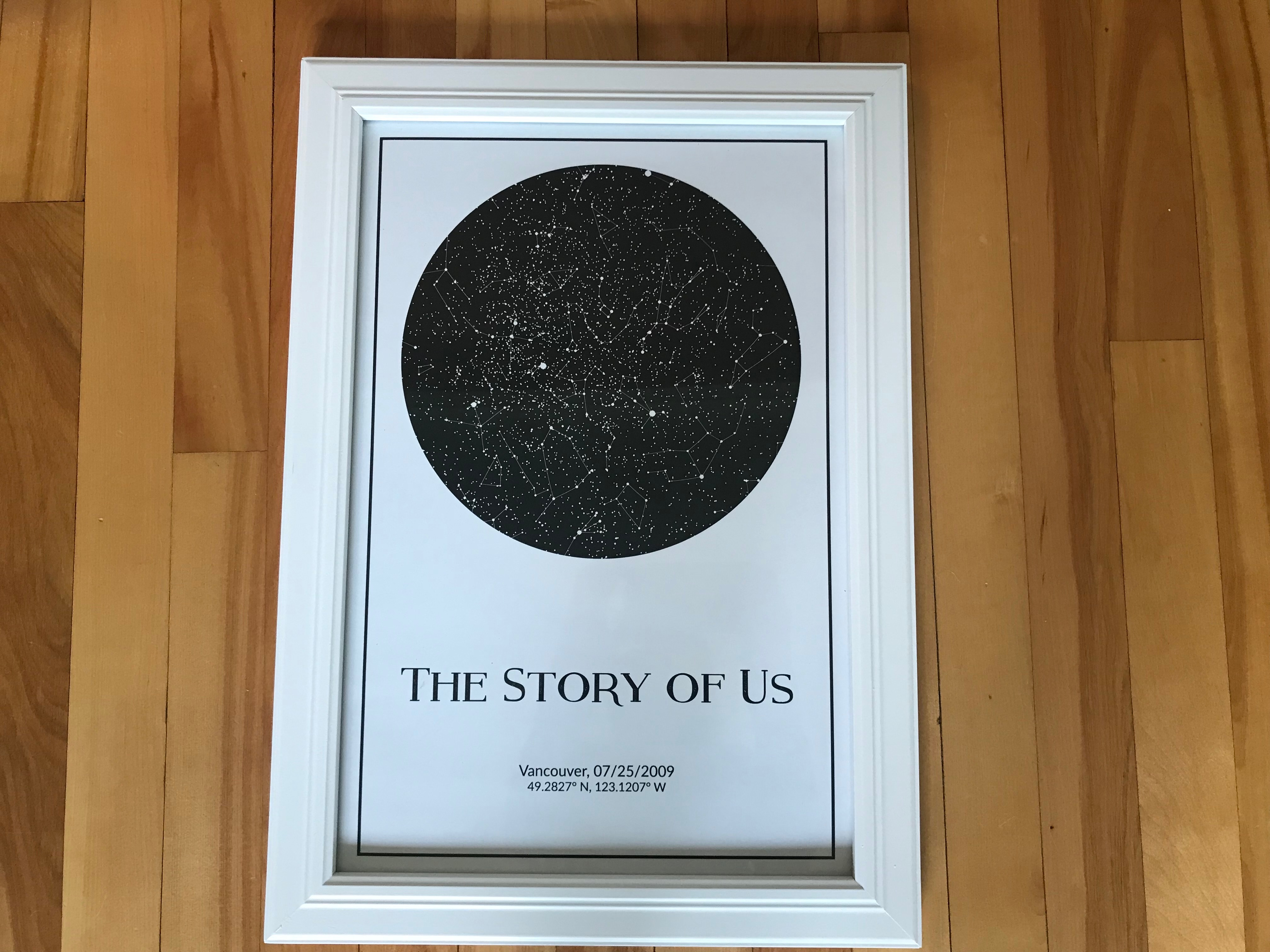 What Is A Star Map.Celebrating Our Family S Story With A Star Map Embracing Ottawa