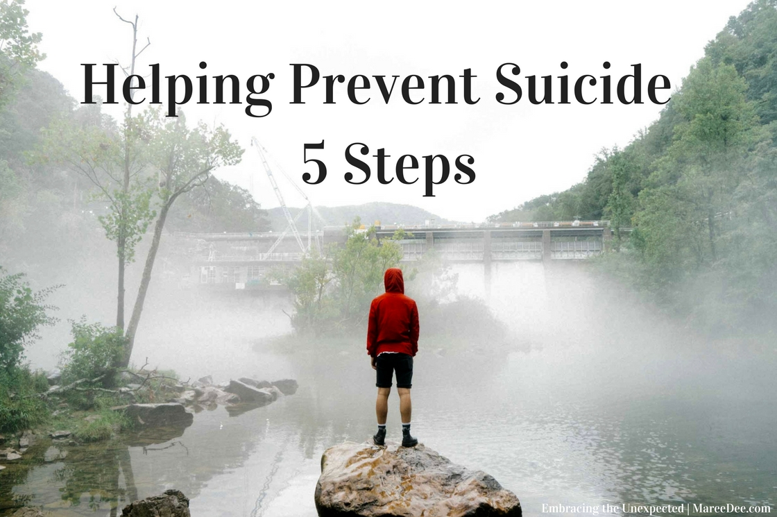 Helping Prevent Suicide - 5 Steps