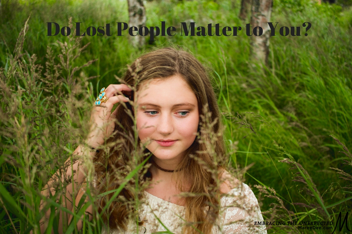 Do Lost People Really Matter to You?
