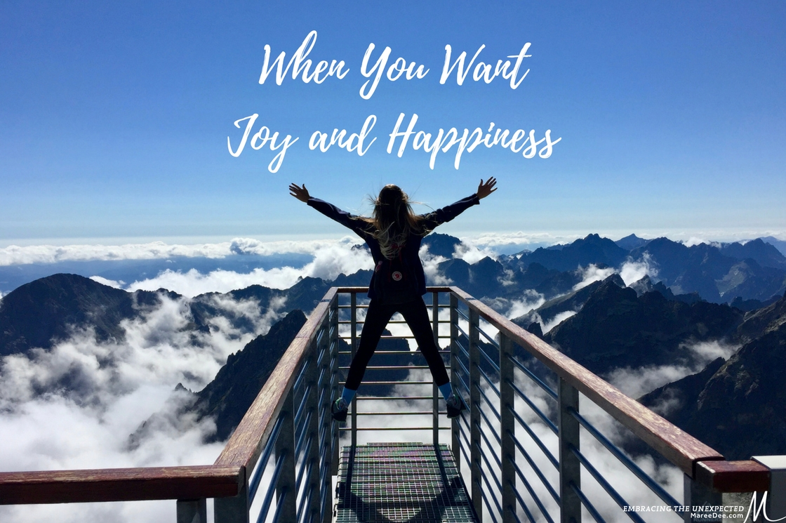 When You Want Joy and Happiness
