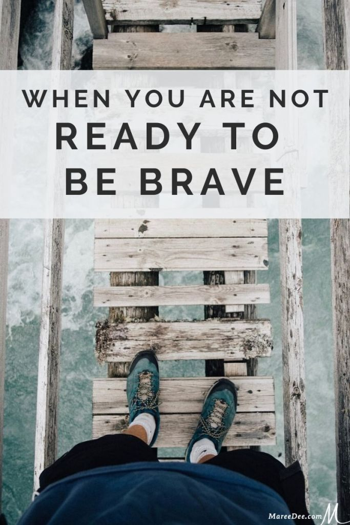We are a nation that is hurting!  There is a need to be bold and compassionate, but maybe you aren't quite ready to be brave.