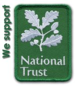 national trust logo patch