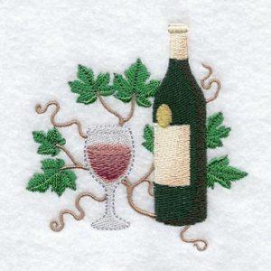 A4935 wine bottle