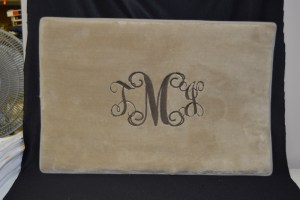 Embroidery monogram created by Embroider It in Columbia MO. (2)