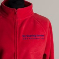 Women's Fleece Jackets – Cleaner Logo Embroidered