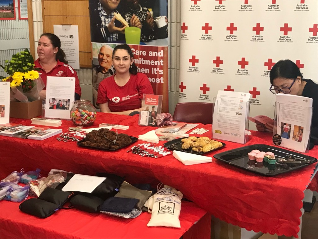 Canberra Homeless Connect 2019 stalls