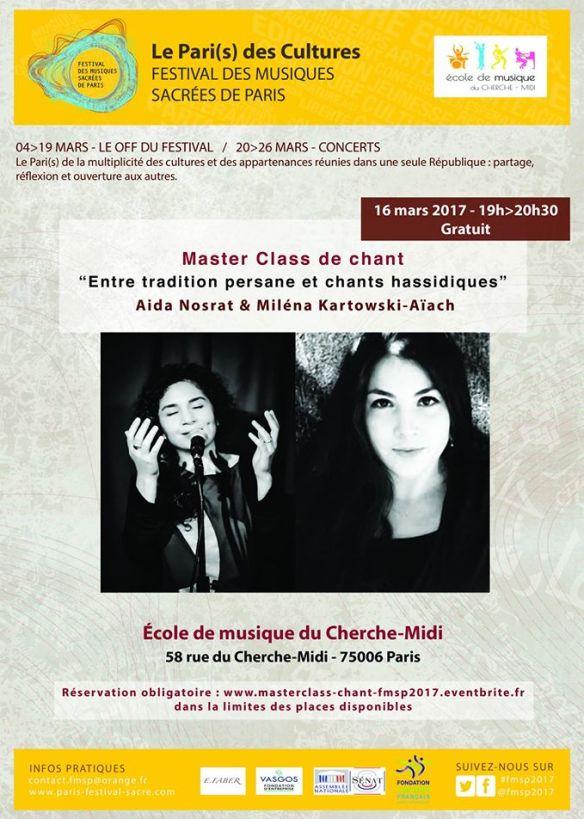 Master Class Ecole de musique du Cherche Midi