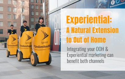 Experiential: A Natural Extension to Out of Home