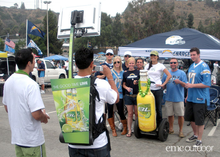 Chargers Bud Light Can