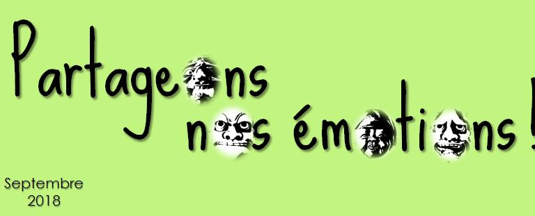 #PartageÉmotions