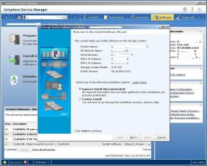 Figure 3.2 - Welcome to the Install Software Wizard