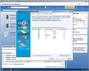 Figure 3.5 - Server readiness for software update