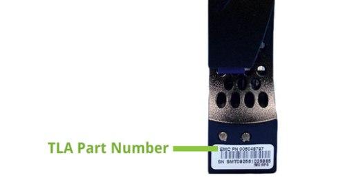 Determining EMC Hard DRive TLA Part Number