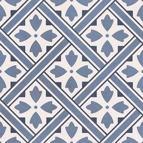 durham blue matt pattern wall floor tile