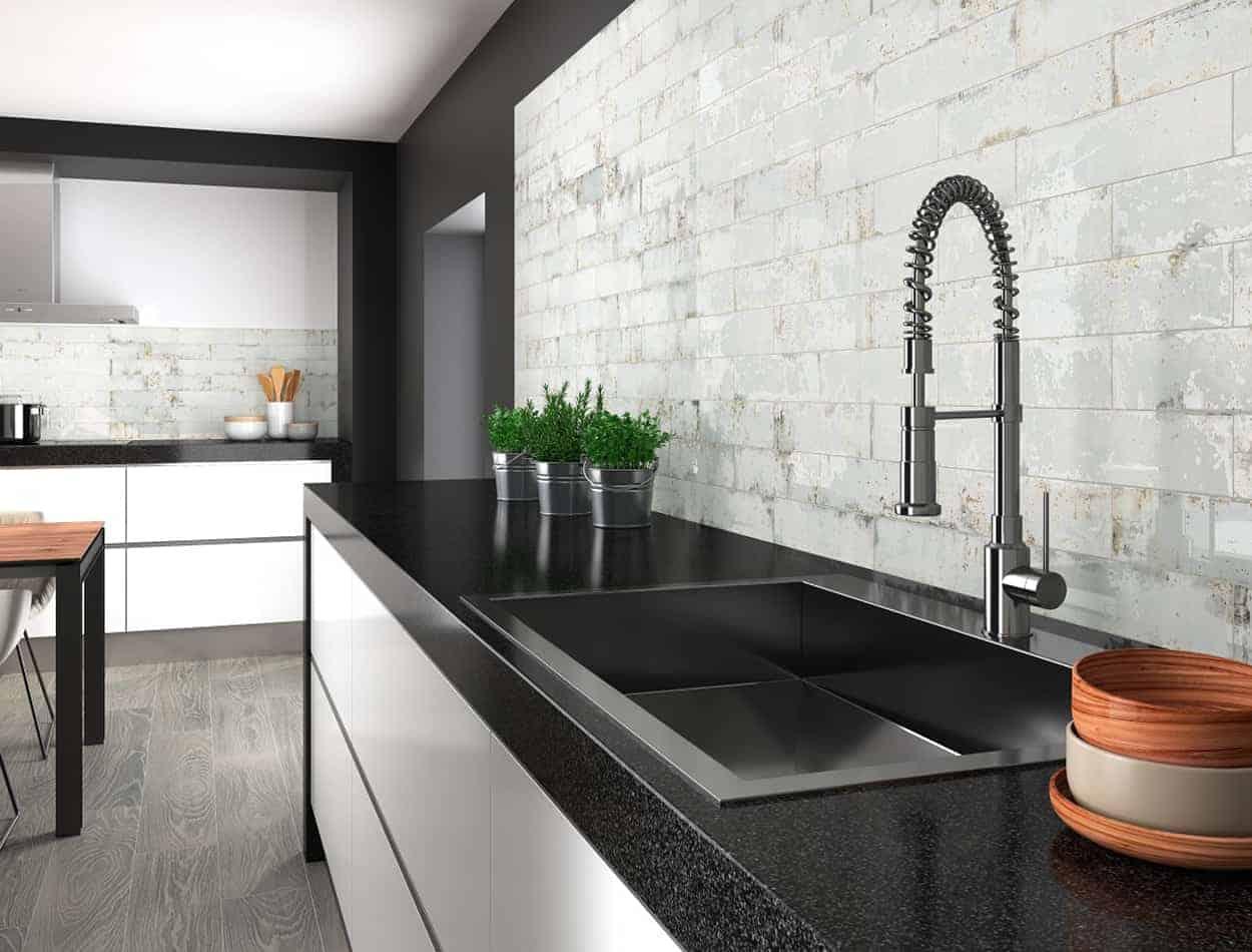 grunge iron matt kitchen bathroom wall tile