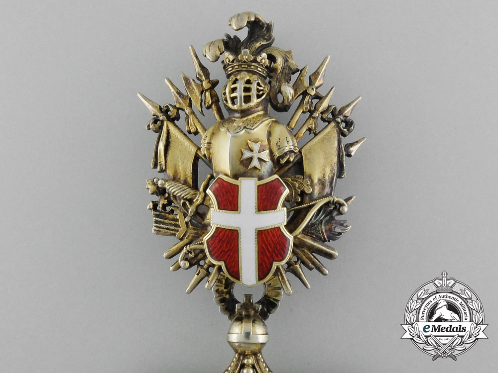 An Austrian Order Of The Knights Of Malta Commander Cross
