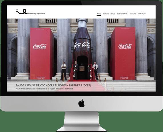desarrollo web de iniciativas y exposiciones