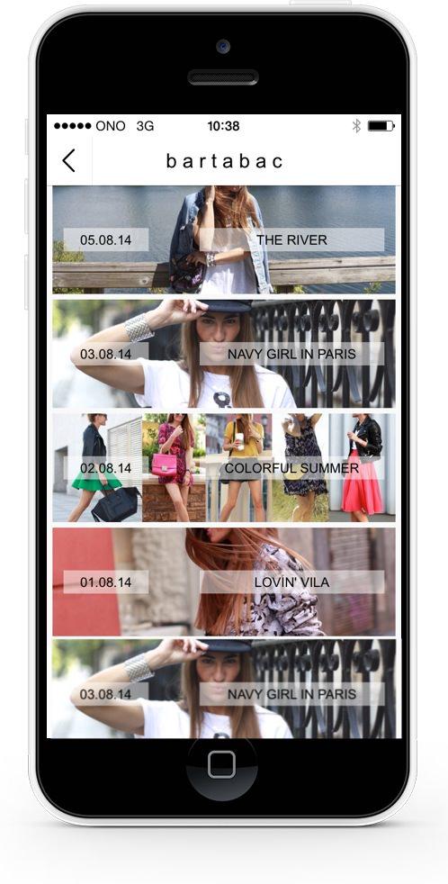 Aplicación móvil de stylelovely.com