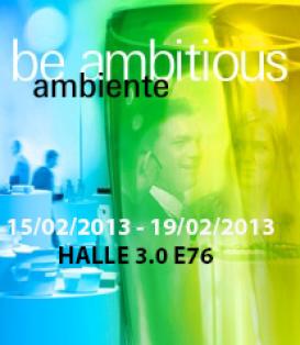 Ambiente Messe Frankfurt 2013