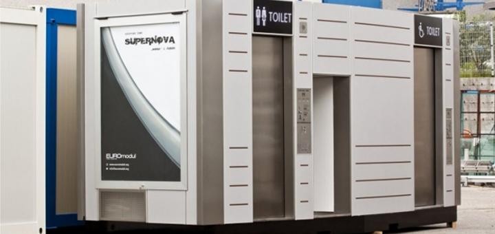 WC sjálfvirk salerni