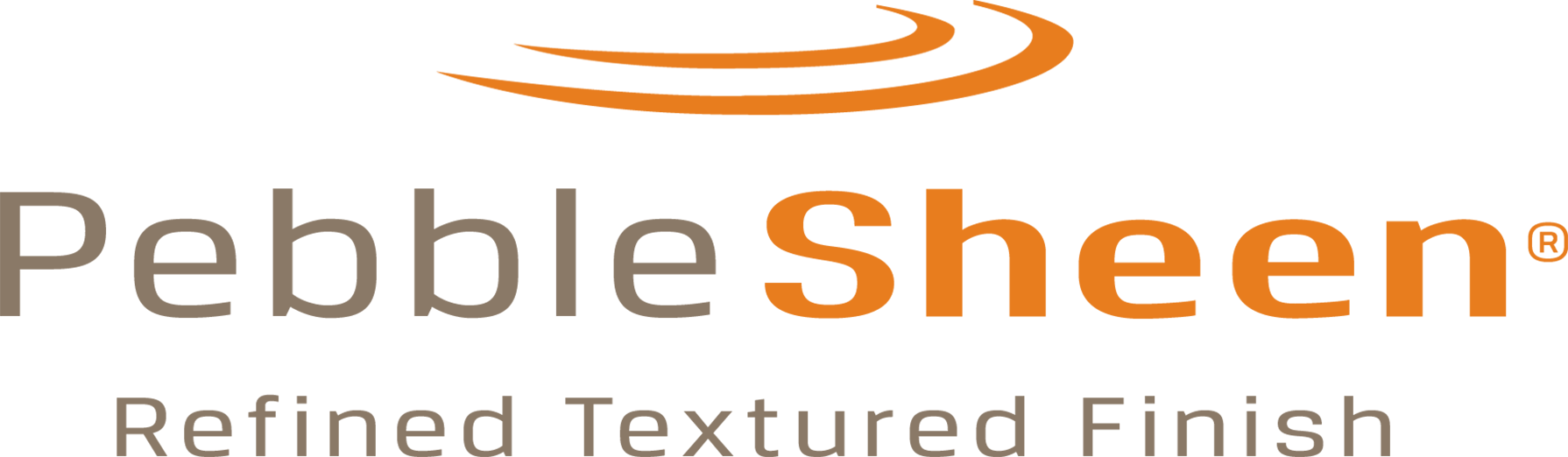 PebbleSheen pool finishes logo