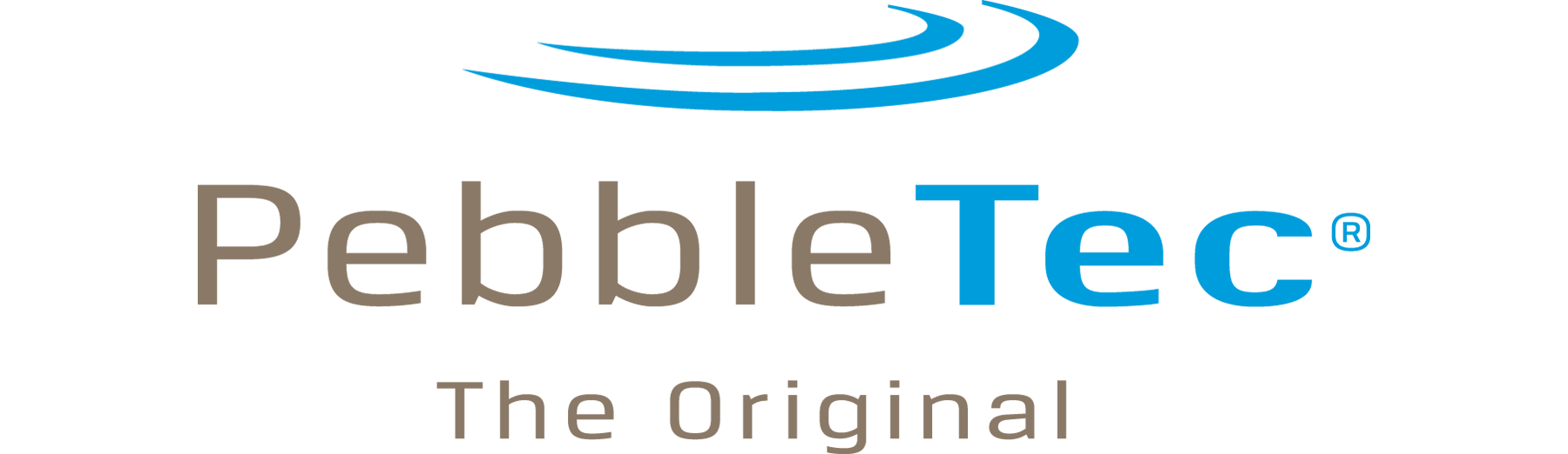 PebbleTec pool surfaces logo