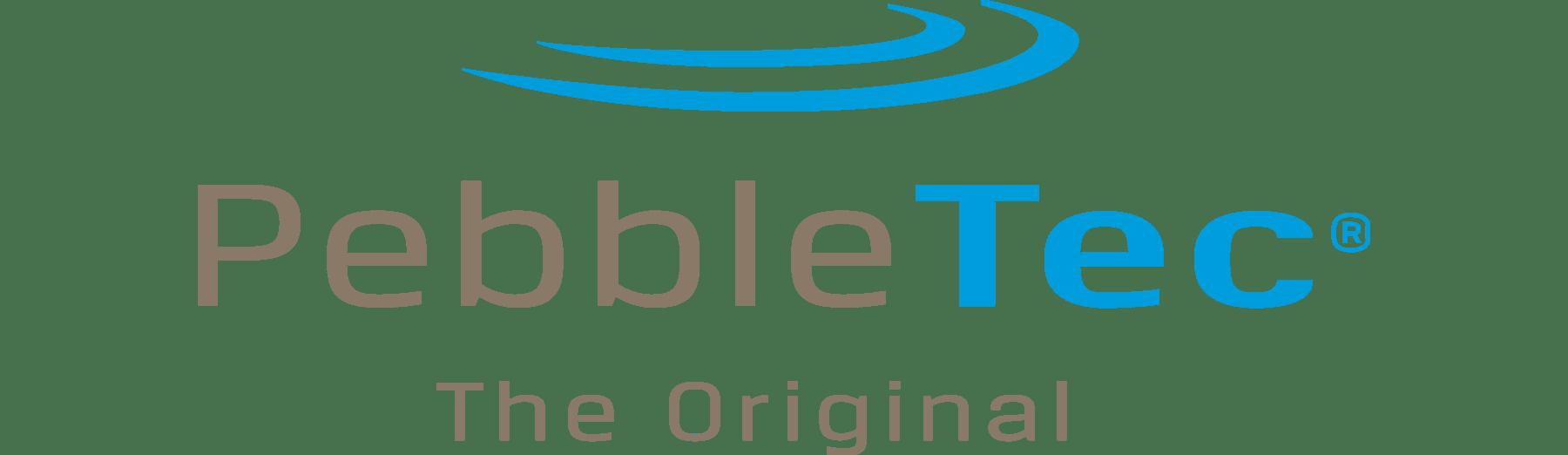 PebbleTec pool surfaces logo