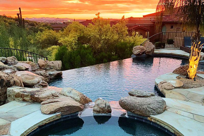 infinity pool summer