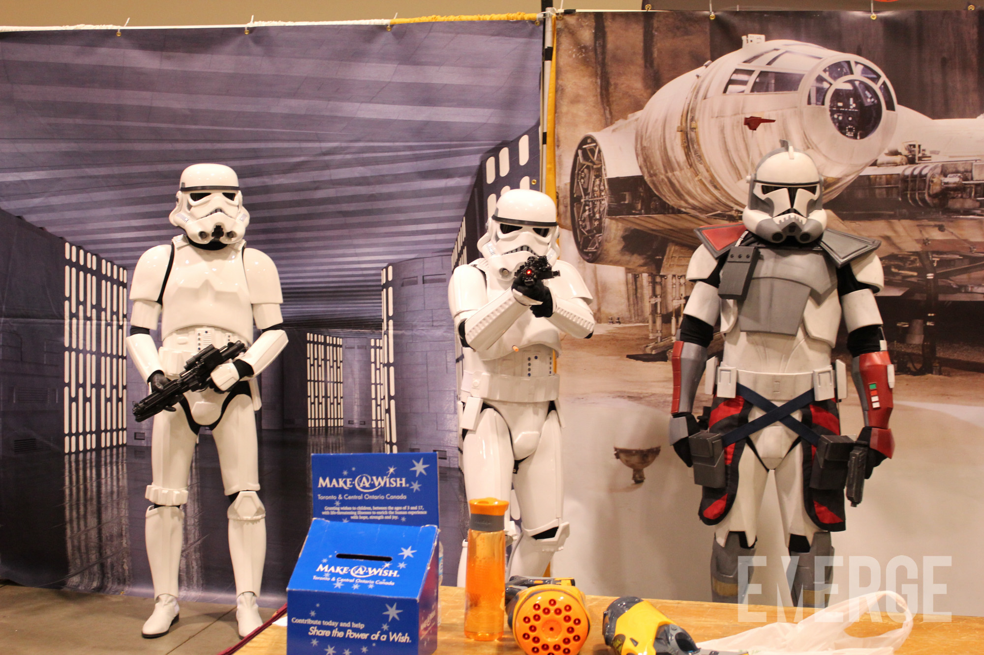 Don't worry, Stormtroopers always miss