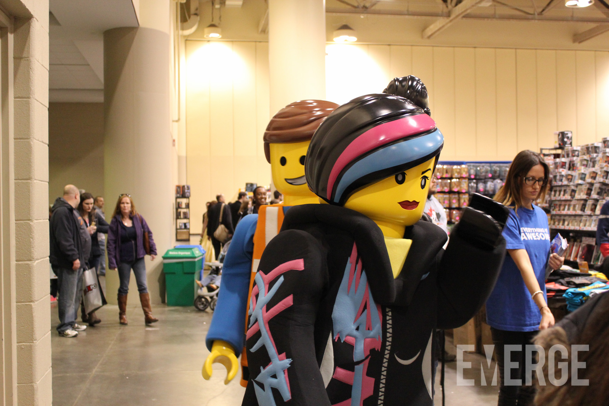 That grin on face of The Lego Movie's Emmet? That's the satisfaction of a great costume, and a high-grossing movie