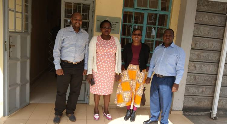 Laikipia County Health Team after Project 47 Meeting