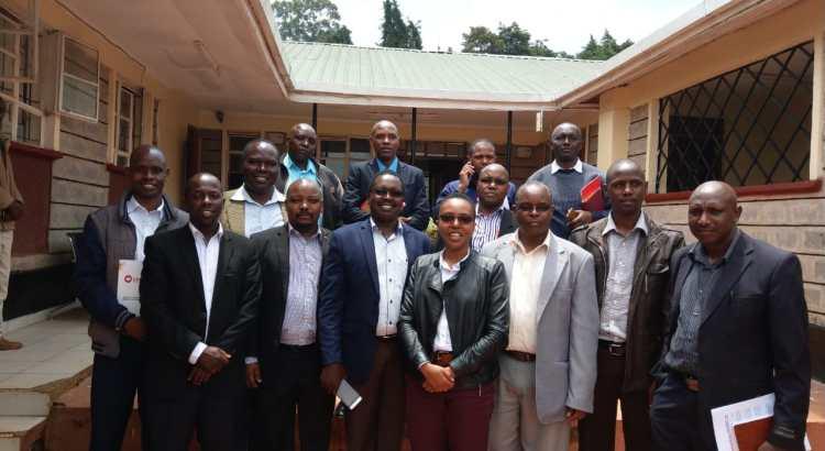 Bomet County Health Team