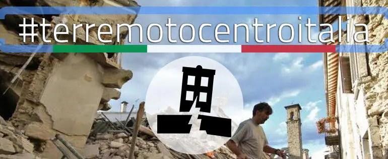 TerremotoCentroItalia: la mobilitazione digitale per i territori colpiti dal sisma