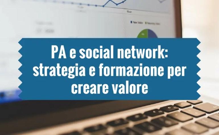 PA e social network: strategia e formazione per creare valore
