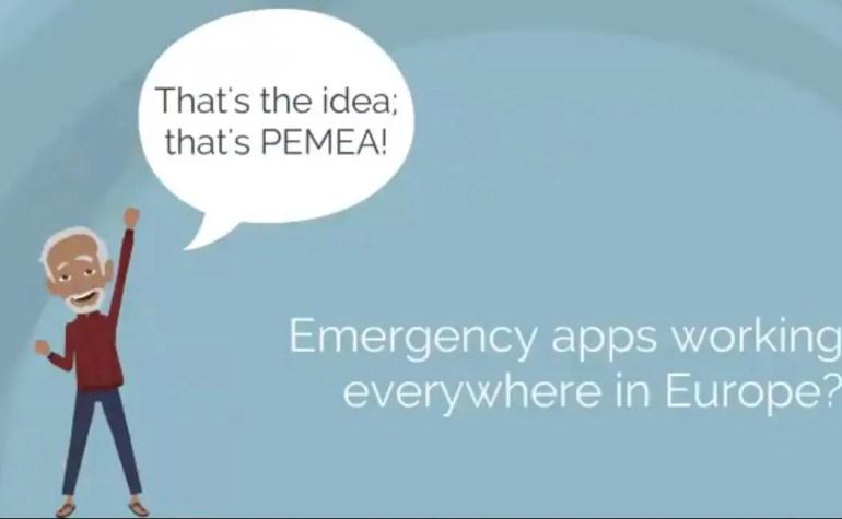App per le emergenze? Ripartiamo superando i confini europei con PEMEA
