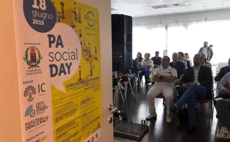 PA Social Day Vado Ligure, dalle allerte meteo alla comunicazione del Ponte Morandi