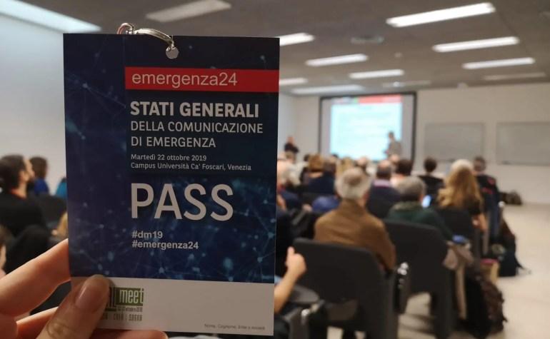 """Emergenza24, """"Fare squadra"""" per una migliore comunicazione in emergenza"""