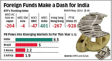Emerging Market Skeptic - Foreign Investment Inflows Into BRIC Countries